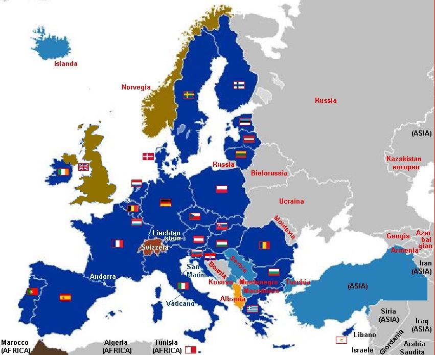 Carta Europa a 27