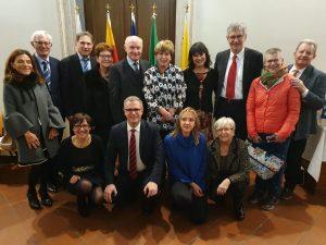 Conferimento della cittadinanza onoraria di Schio ad Irmgard Nesslauer.