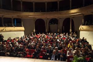 Cittadinanza onoraria di Schio a Irmi Nesslauer al Teatro Civico